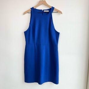 NWOT HALSTON HERITAGE Sheath Cobalt Blue Dress